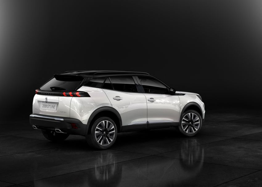 2019 Peugeot 2008 revealed – based on new 208 with lots of tech, electric e-2008 variant with 310 km range Image #974839
