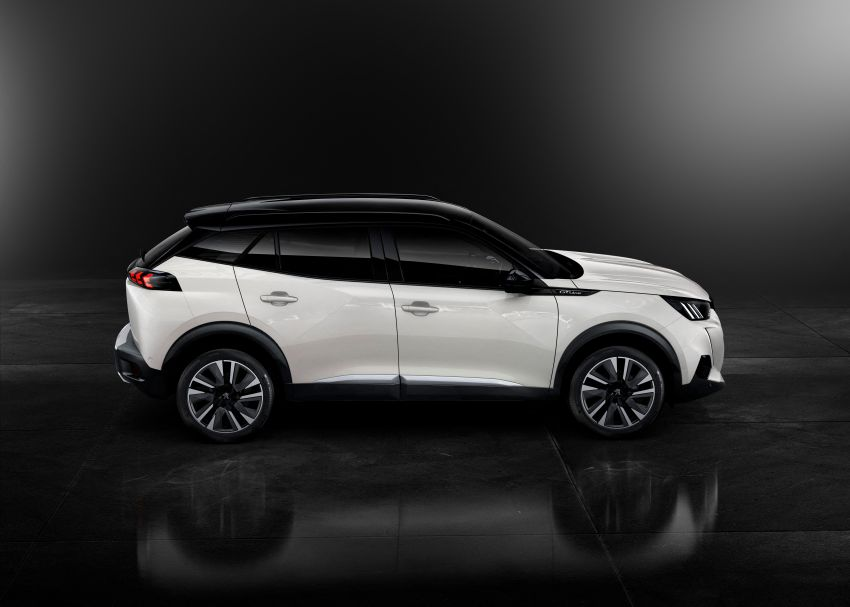 2019 Peugeot 2008 revealed – based on new 208 with lots of tech, electric e-2008 variant with 310 km range Image #974840