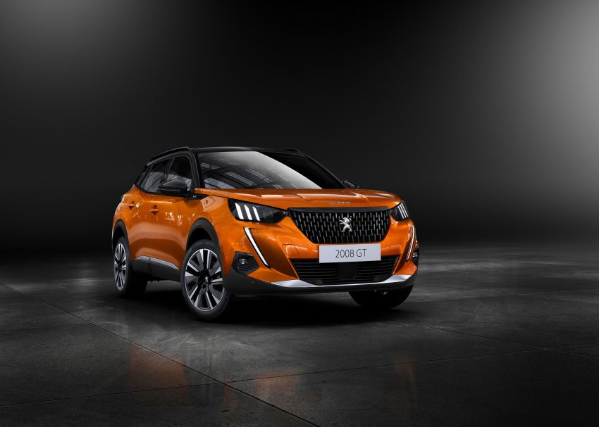 2019 Peugeot 2008 revealed – based on new 208 with lots of tech, electric e-2008 variant with 310 km range Image #974842