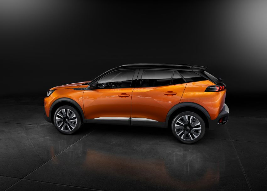 2019 Peugeot 2008 revealed – based on new 208 with lots of tech, electric e-2008 variant with 310 km range Image #974966
