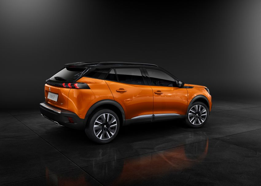 2019 Peugeot 2008 revealed – based on new 208 with lots of tech, electric e-2008 variant with 310 km range Image #974970