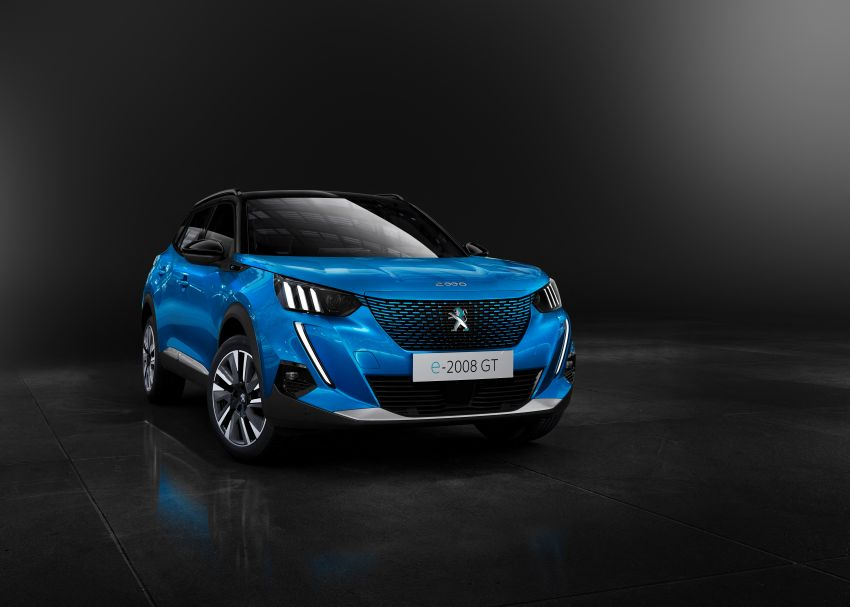 2019 Peugeot 2008 revealed – based on new 208 with lots of tech, electric e-2008 variant with 310 km range Image #974971