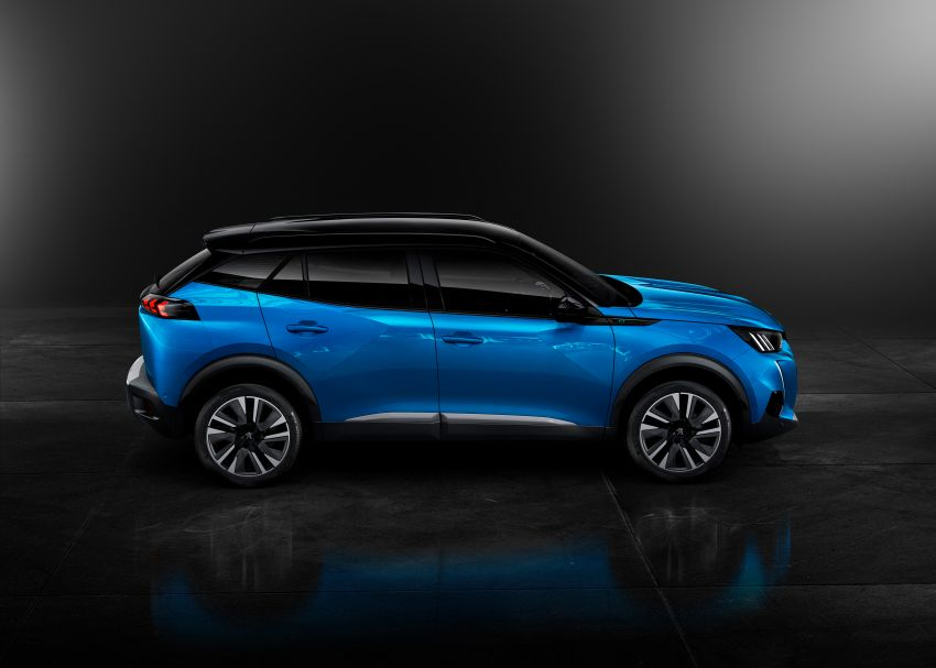 2019 Peugeot 2008 revealed – based on new 208 with lots of tech, electric e-2008 variant with 310 km range Image #974975