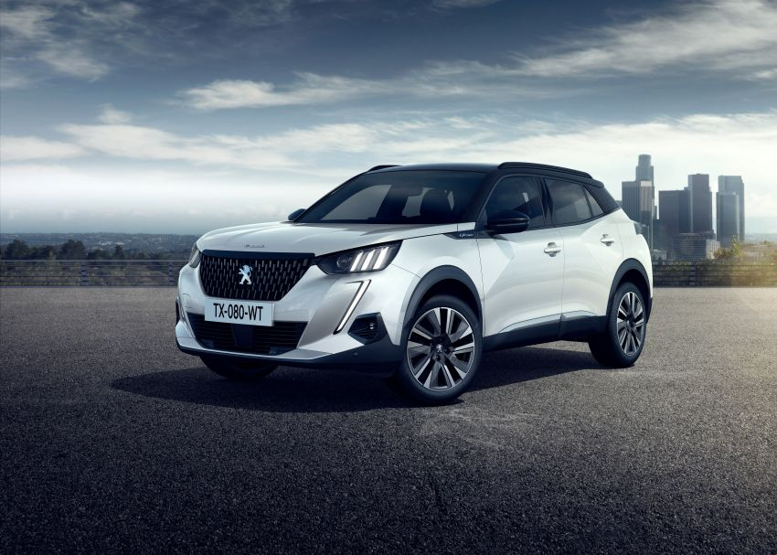 2019 Peugeot 2008 revealed – based on new 208 with lots of tech, electric e-2008 variant with 310 km range Image #974980