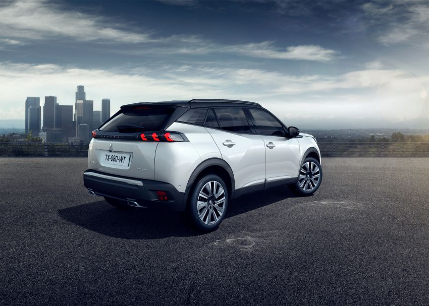 2019 Peugeot 2008 revealed – based on new 208 with lots of tech, electric e-2008 variant with 310 km range Image #974985
