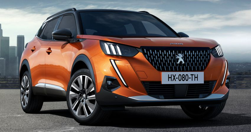 2019 Peugeot 2008 revealed – based on new 208 with lots of tech, electric e-2008 variant with 310 km range Image #974995