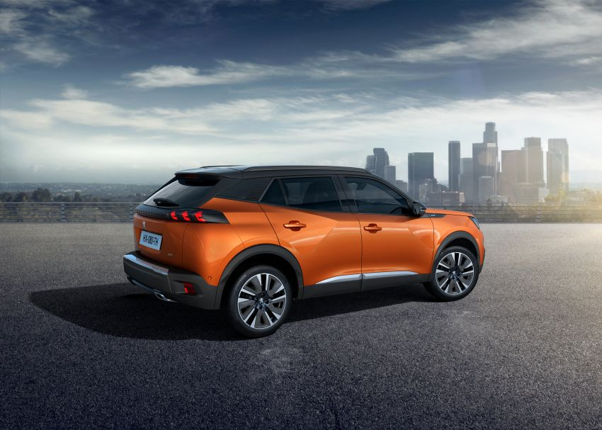 2019 Peugeot 2008 revealed – based on new 208 with lots of tech, electric e-2008 variant with 310 km range Image #975001