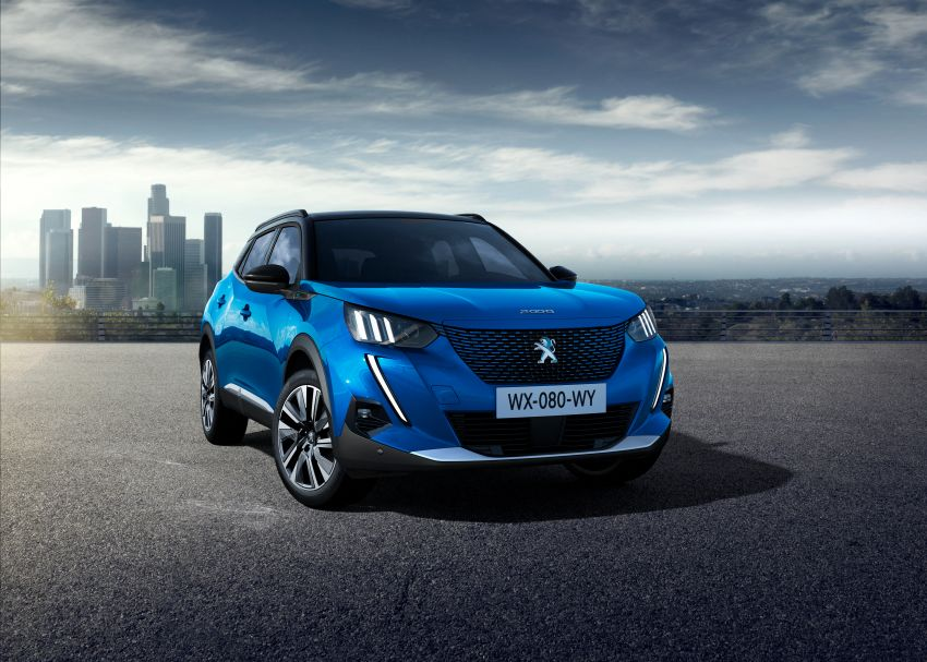 2019 Peugeot 2008 revealed – based on new 208 with lots of tech, electric e-2008 variant with 310 km range Image #975003