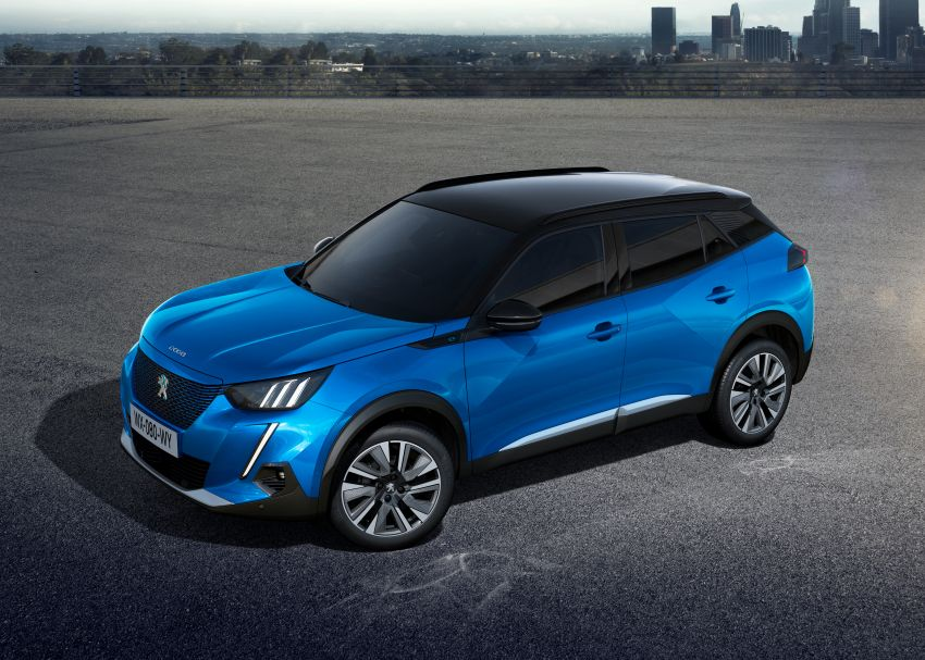 2019 Peugeot 2008 revealed – based on new 208 with lots of tech, electric e-2008 variant with 310 km range Image #975006