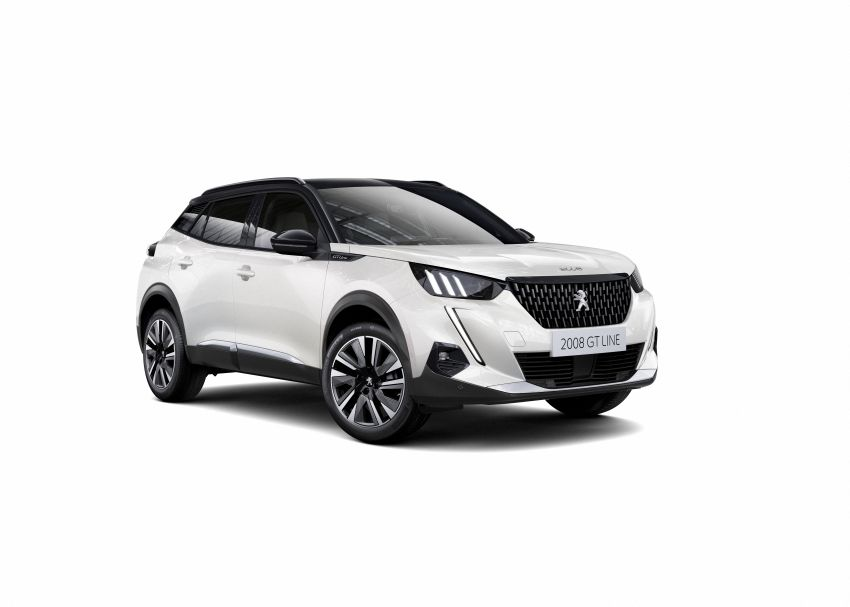 2019 Peugeot 2008 revealed – based on new 208 with lots of tech, electric e-2008 variant with 310 km range Image #975008