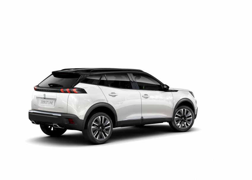 2019 Peugeot 2008 revealed – based on new 208 with lots of tech, electric e-2008 variant with 310 km range Image #975009