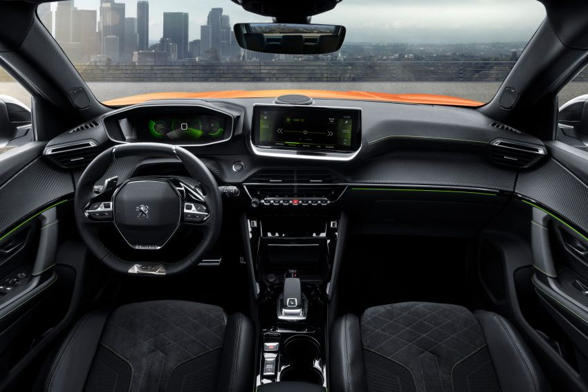 2019 Peugeot 2008 revealed – based on new 208 with lots of tech, electric e-2008 variant with 310 km range Image #974810