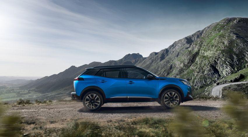 2019 Peugeot 2008 revealed – based on new 208 with lots of tech, electric e-2008 variant with 310 km range Image #975050