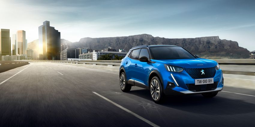 2019 Peugeot 2008 revealed – based on new 208 with lots of tech, electric e-2008 variant with 310 km range Image #975112