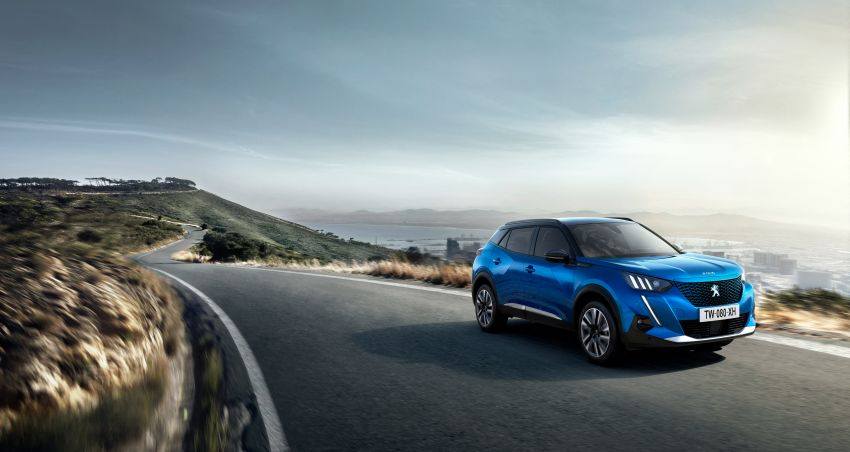 2019 Peugeot 2008 revealed – based on new 208 with lots of tech, electric e-2008 variant with 310 km range Image #975116