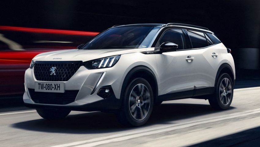 2019 Peugeot 2008 revealed – based on new 208 with lots of tech, electric e-2008 variant with 310 km range Image #975124