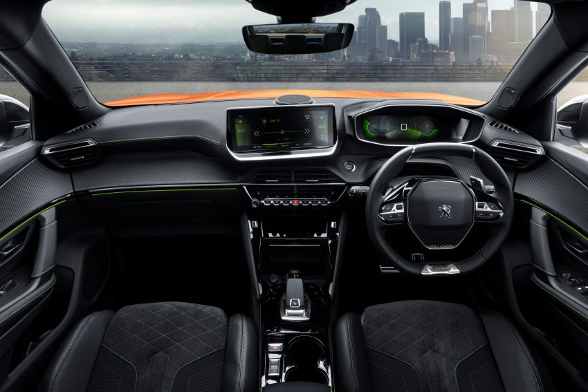 2019 Peugeot 2008 revealed – based on new 208 with lots of tech, electric e-2008 variant with 310 km range Image #974813