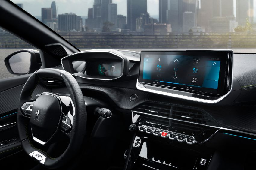 2019 Peugeot 2008 revealed – based on new 208 with lots of tech, electric e-2008 variant with 310 km range Image #975170