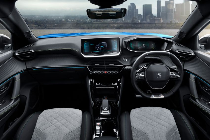 2019 Peugeot 2008 revealed – based on new 208 with lots of tech, electric e-2008 variant with 310 km range Image #974816