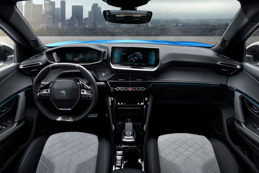 2019 Peugeot 2008 revealed – based on new 208 with lots of tech, electric e-2008 variant with 310 km range Image #974818
