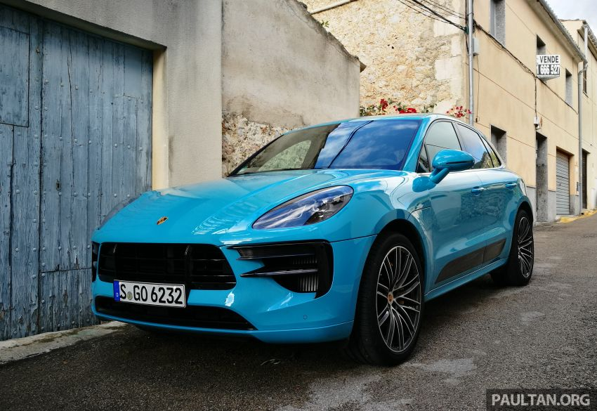 DRIVEN: 2019 Porsche Macan facelift sampled in Spain Image #967367