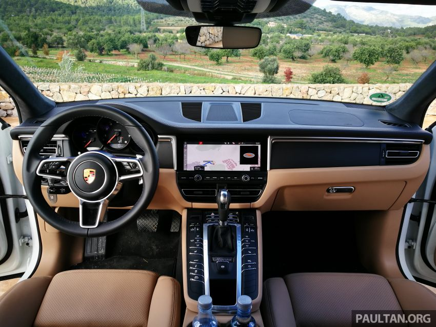 DRIVEN: 2019 Porsche Macan facelift sampled in Spain Image #967386
