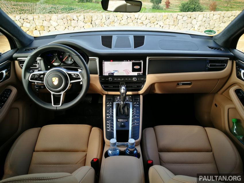 DRIVEN: 2019 Porsche Macan facelift sampled in Spain Image #967387
