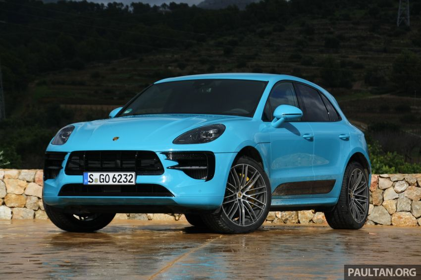 DRIVEN: 2019 Porsche Macan facelift sampled in Spain Image #967391