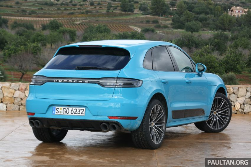 DRIVEN: 2019 Porsche Macan facelift sampled in Spain Image #967400