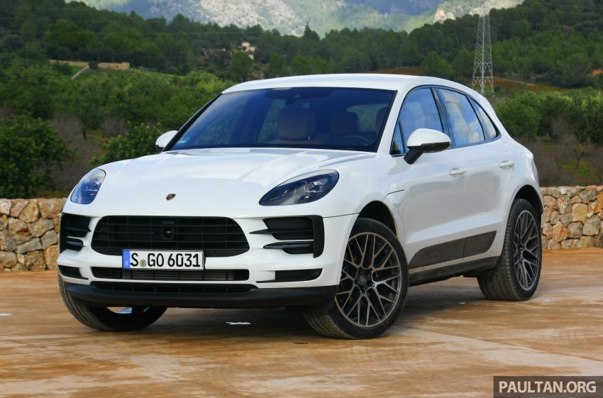 DRIVEN: 2019 Porsche Macan facelift sampled in Spain Image #967430