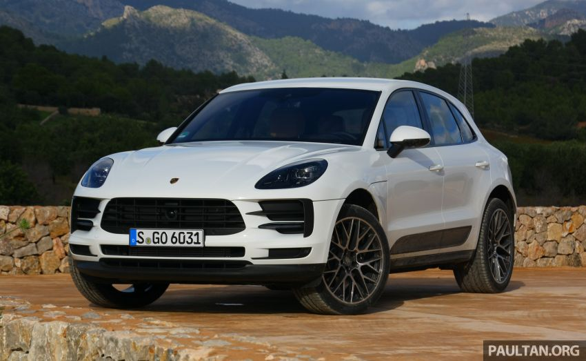 DRIVEN: 2019 Porsche Macan facelift sampled in Spain Image #967431