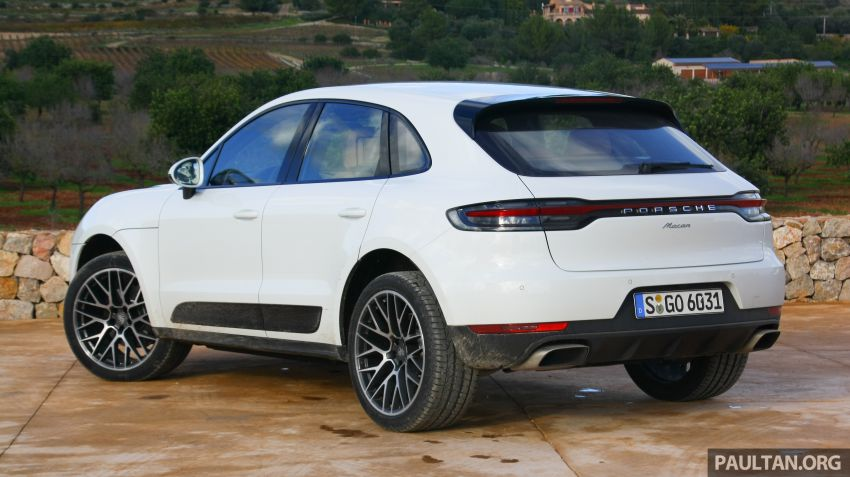 DRIVEN: 2019 Porsche Macan facelift sampled in Spain Image #967434
