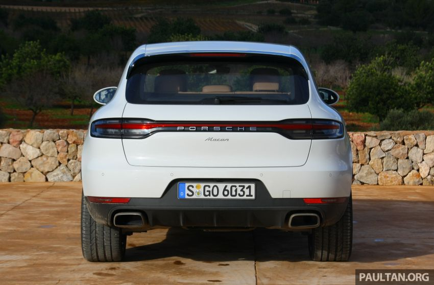 DRIVEN: 2019 Porsche Macan facelift sampled in Spain Image #967438