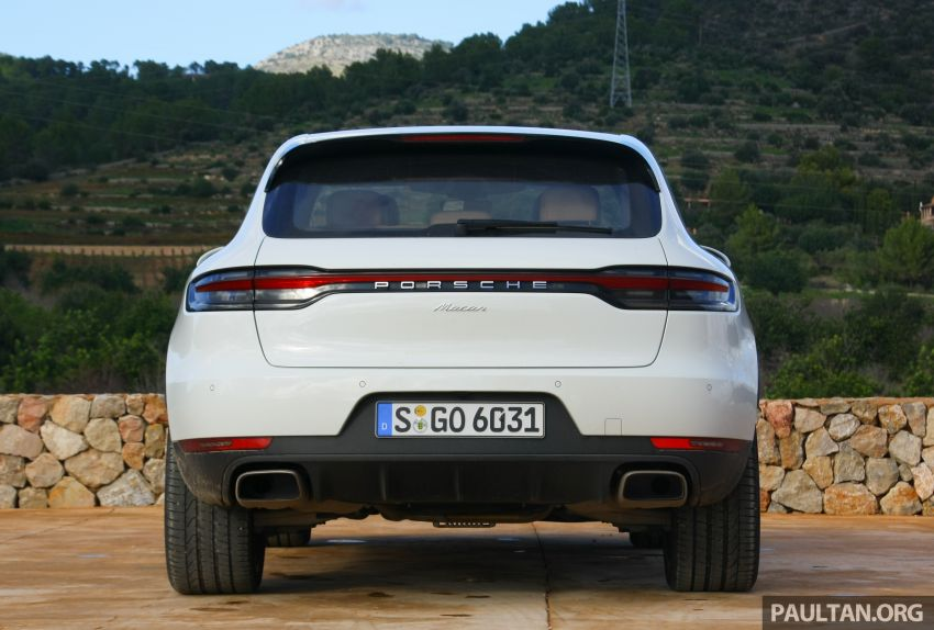 DRIVEN: 2019 Porsche Macan facelift sampled in Spain Image #967439