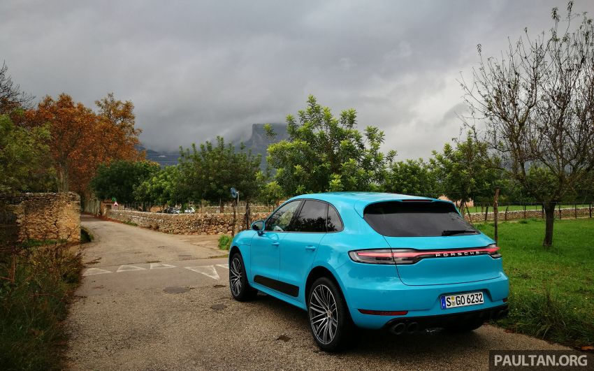DRIVEN: 2019 Porsche Macan facelift sampled in Spain Image #967374