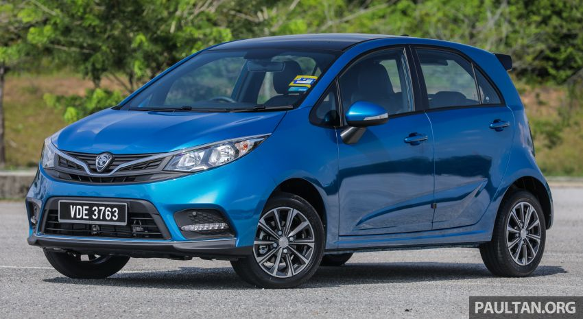 FIRST DRIVE: 2019 Proton Iriz, Persona facelift review Image #975226