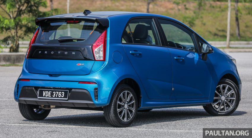 FIRST DRIVE: 2019 Proton Iriz, Persona facelift review Image #975228