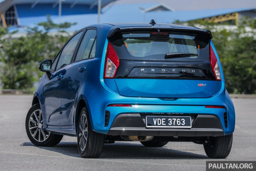 FIRST DRIVE: 2019 Proton Iriz, Persona facelift review Image #975232