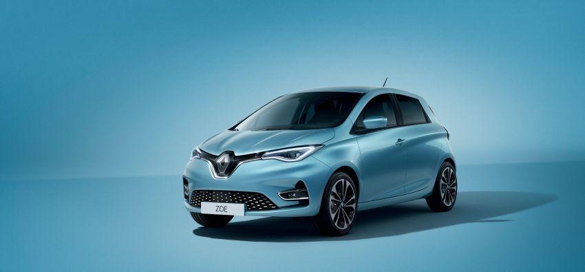 2019 Renault Zoe: EV gets 135 PS, 390 km WLTP range Image #973712