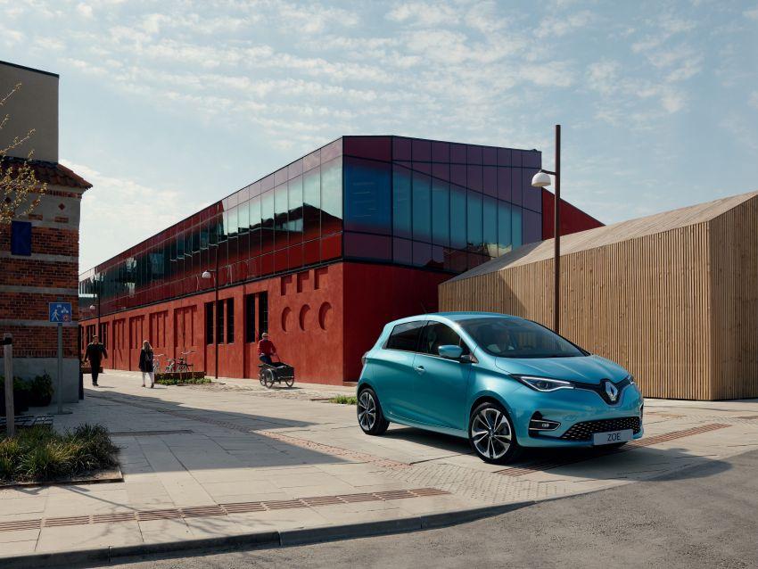 2019 Renault Zoe: EV gets 135 PS, 390 km WLTP range Image #973701