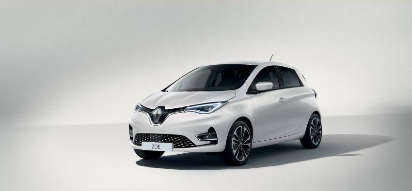2019 Renault Zoe: EV gets 135 PS, 390 km WLTP range Image #973723