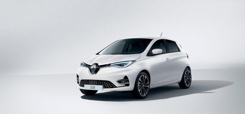 2019 Renault Zoe: EV gets 135 PS, 390 km WLTP range Image #973729