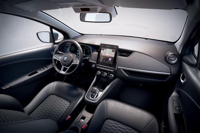 2019 Renault Zoe: EV gets 135 PS, 390 km WLTP range Image #973730
