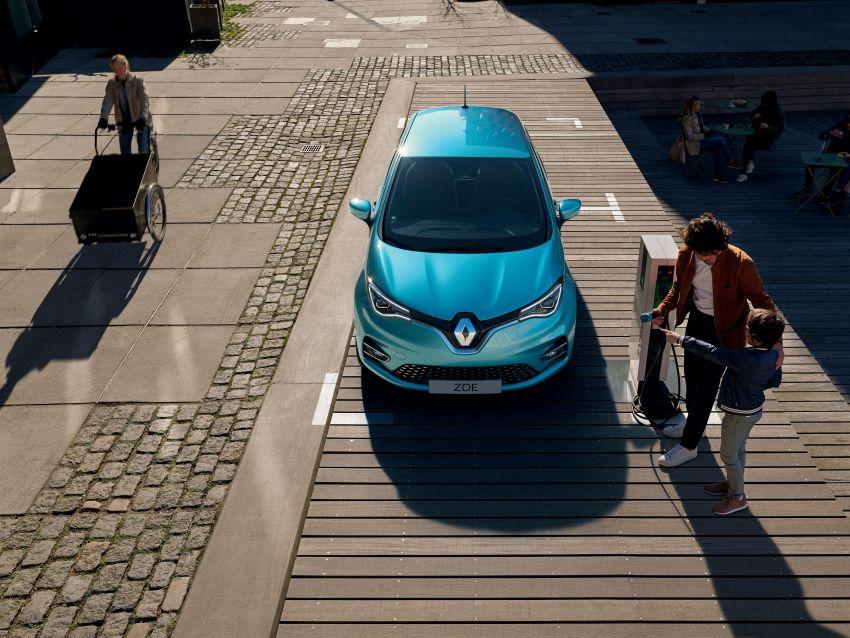 2019 Renault Zoe: EV gets 135 PS, 390 km WLTP range Image #973702