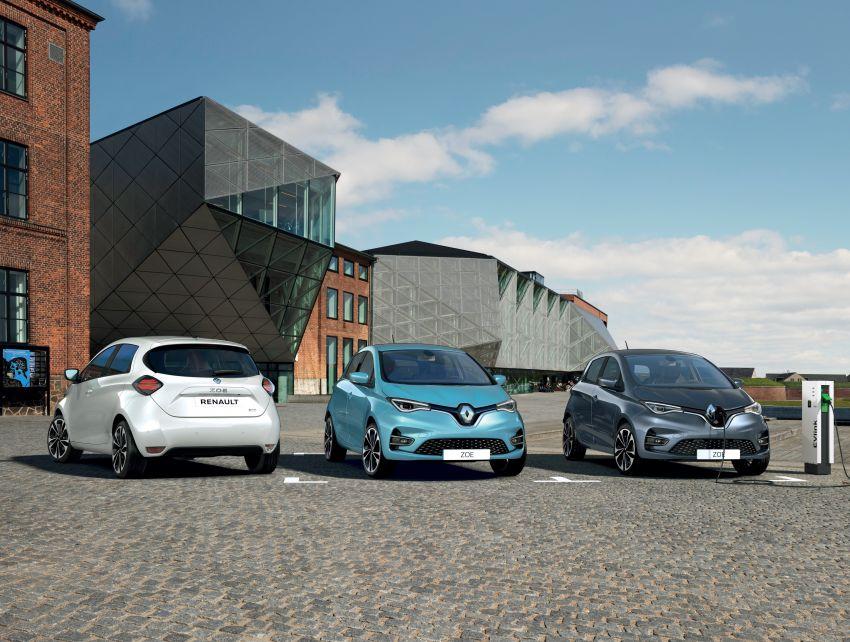 2019 Renault Zoe: EV gets 135 PS, 390 km WLTP range Image #973704