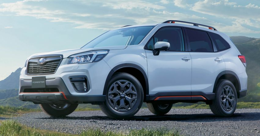 Subaru Forester receives minor updates in Japan Image #970372