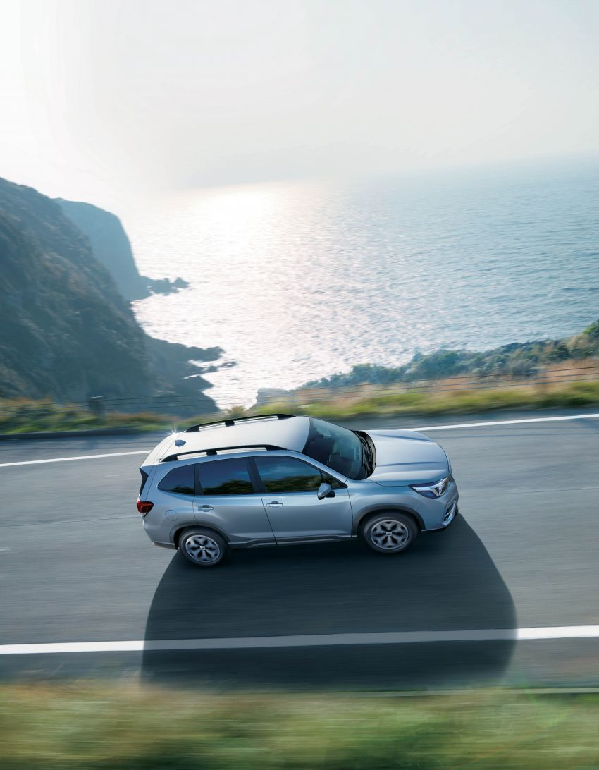 Subaru Forester receives minor updates in Japan Image #970382