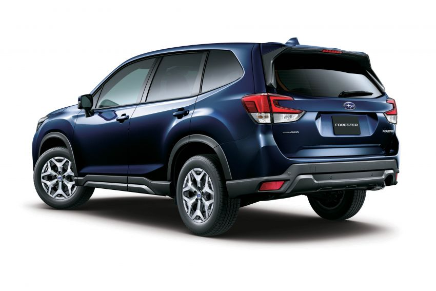 Subaru Forester receives minor updates in Japan Image #970384