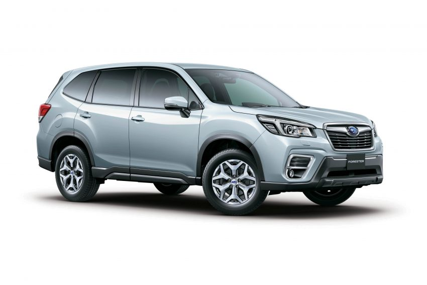 Subaru Forester receives minor updates in Japan Image #970385