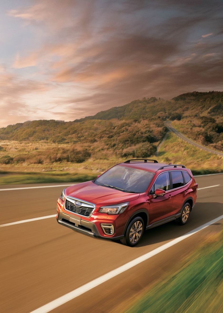 Subaru Forester receives minor updates in Japan Image #970388